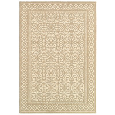 Somme Oyster Rug Rug Size: Rectangle 53 x 76