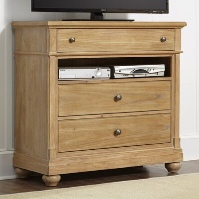 Bleau 3 Drawer Media Chest