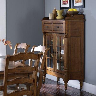 Artemps Dining China Cabinet Finish: Rustic Oak