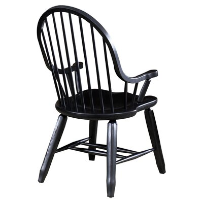 Artemps Arm Chair Finish: Black