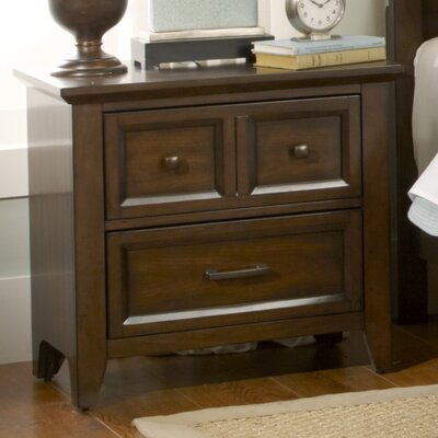 Mortemart 2 Drawer Nightstand