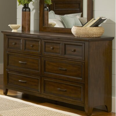 Mortemart 6 Drawer Double Dresser