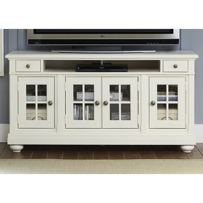 Saguenay TV Stand Color: White, Width of TV Stand: 32 H x 62.25 W x 19 D