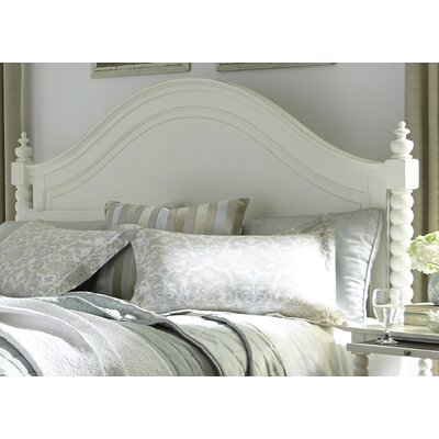 Saguenay Panel Headboard Finish: Linen, Size: King