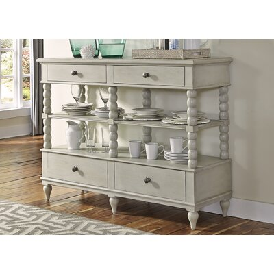 Baroncourt Buffet Finish: Dove Gray