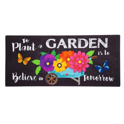 Kindred Plant Garden Sassafras Switch Doormat