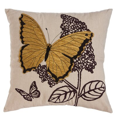 Baker Natures Bounty Butterfly Indoor/Outdoor Throw Pillow