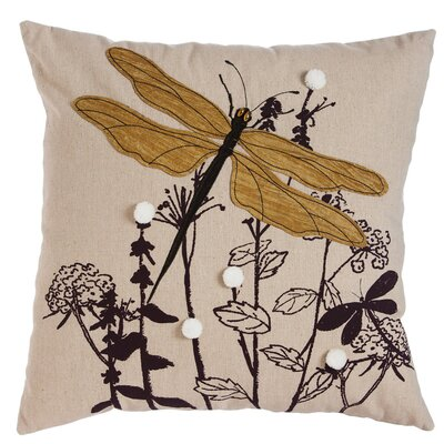 Spencer Natures Bounty Dragonfly Indoor/Outdoor Throw Pillow