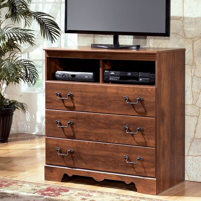 Elle 3 Drawer Media Chest