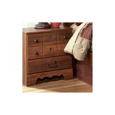 Elle 3 Drawer Nightstand