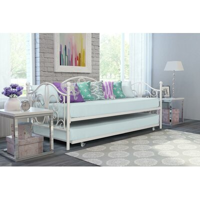 Baleine Daybed with Trundle Finish: Off-White