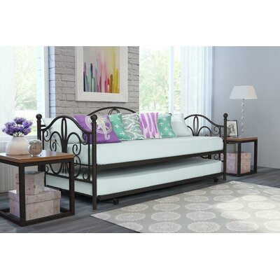 Baleine Daybed with Trundle Finish: Bronze