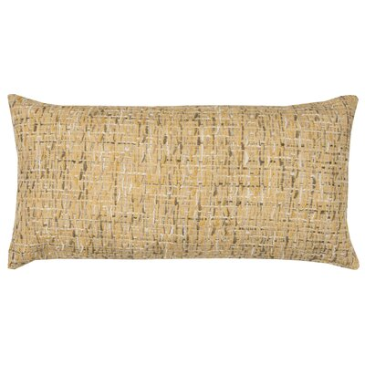 Lorimier Cotton Lumbar Pillow Color: Yellow