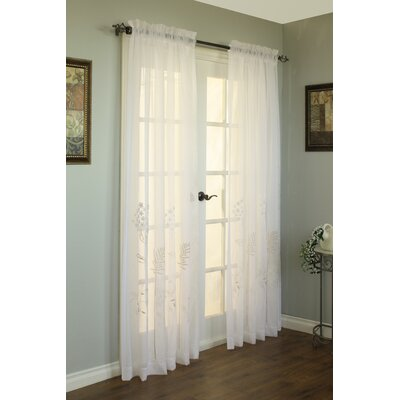 Irenee Top Single Curtain Panel