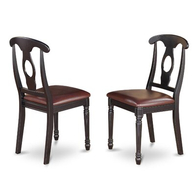 Aimee Side Chair in Faux Leather (Set of 2)
