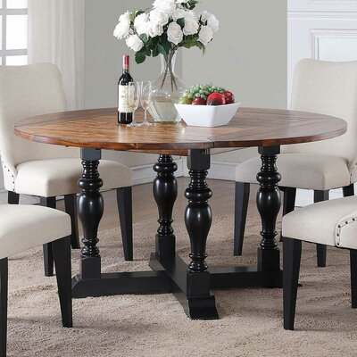 Maryellen Round Extendable Dining Table