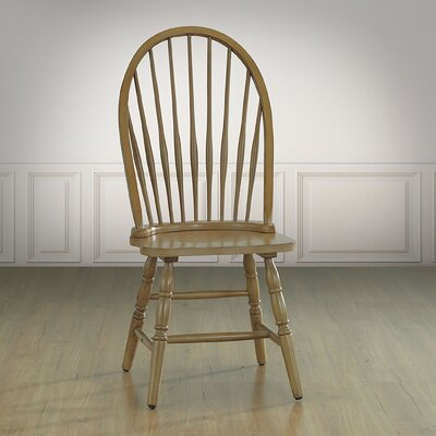 Biermann Solid Wood Dining Chair Finish: Harvest Oak