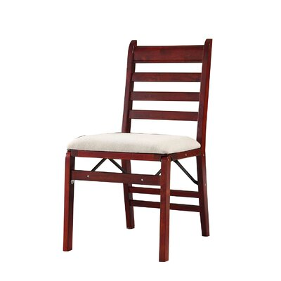 Mercy Folding Side Chair Finish: Dark Walnut