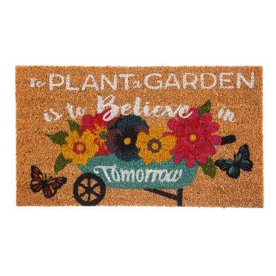 Berens Plant Garden Coir Doormat