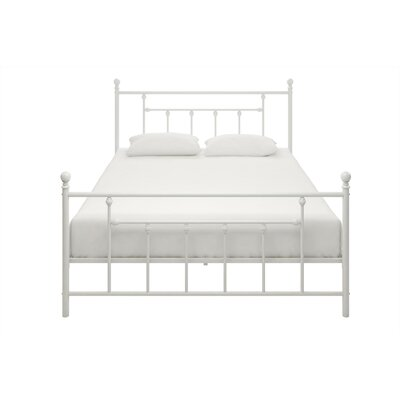 Lyster Platform Bed Size: Twin, Finish: White