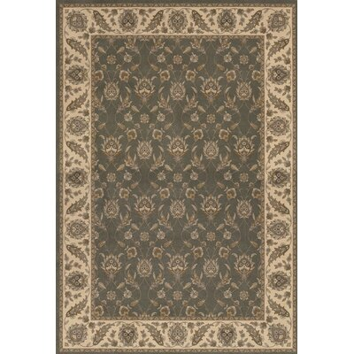 Saire Gray/Beige Area Rug Rug Size: Rectangle 92 x 125