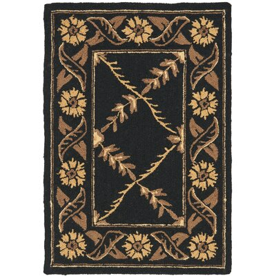 Pipers Brown Area Rug Rug Size: 18 x 26