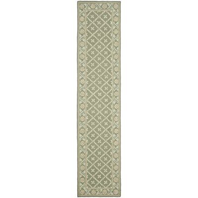 Pipers Green Area Rug Rug Size: Runner 23 x 10