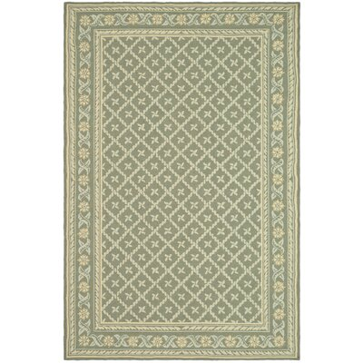 Pipers Green Area Rug Rug Size: 56 x 86