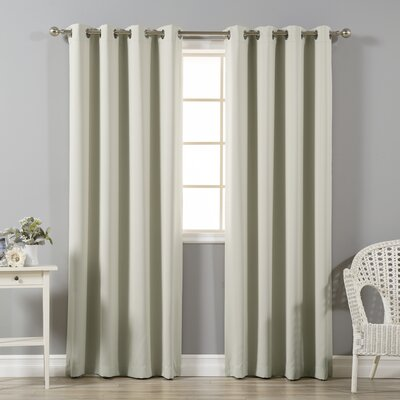 Prudence Solid Blackout/Thermal Curtain Panel