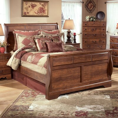 Elle Sleigh Customizable Bedroom Set