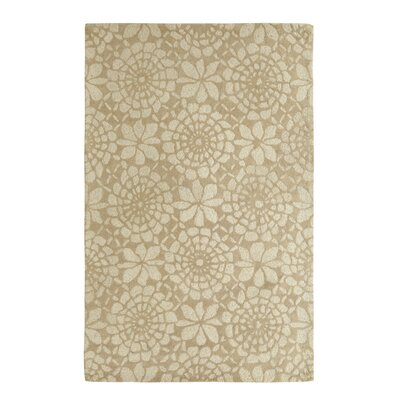 Roland Ivory/Grey Area Rug Rug Size: Rectangle 5 x 8