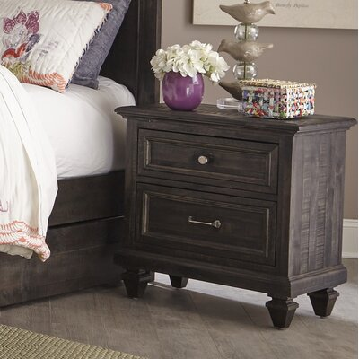 Delpha 2 Drawer Nightstand