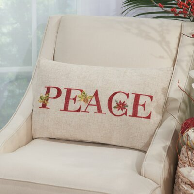 Savanah Peace Lumbar Pillow
