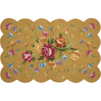 Chatelaine Hand-Tufted Yellow Area Rug