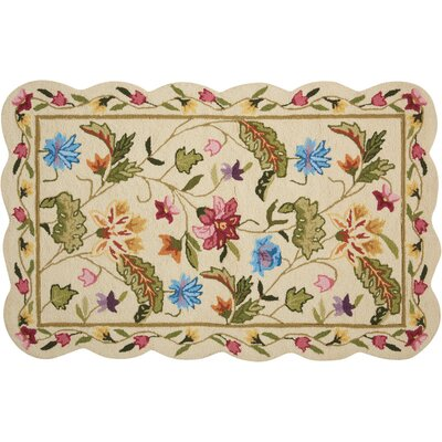 Chatelaine Hand-Tufted Ivory Area Rug
