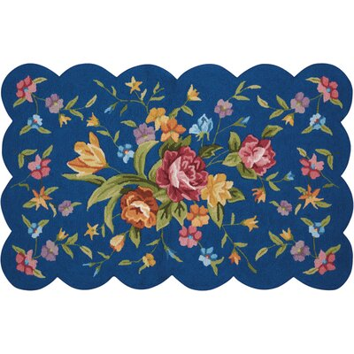 Chatelaine  Hand-Tufted Navy Area Rug