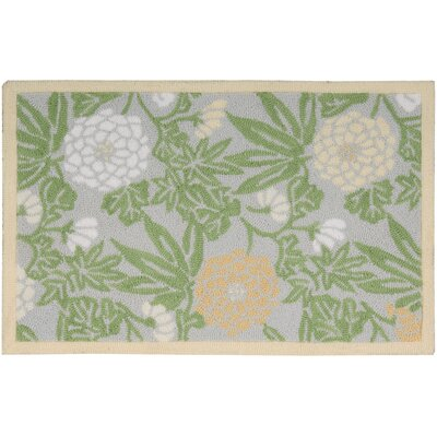 Chatelaine Hand-Tufted Green/Gray Area Rug