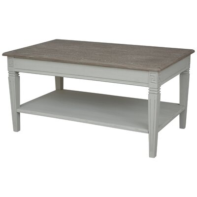 Madison Indoor 2 Tier Coffee Table Finish: Antique Gray