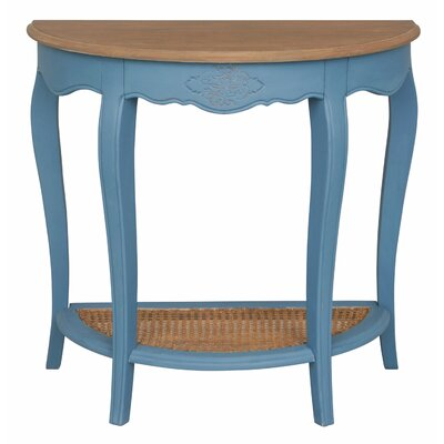 Madison Console Table Color: Antique Blue