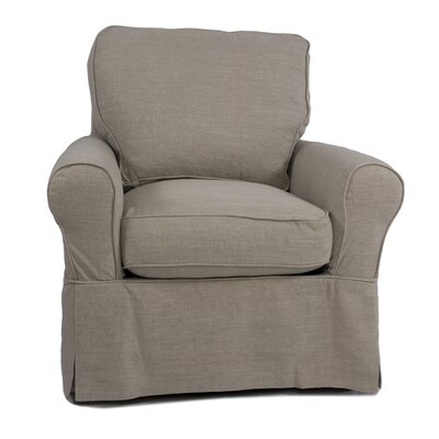 Callie Box Cushion Armchair Slipcover