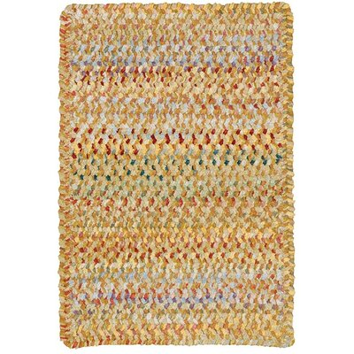 Wilhelmine Amber Area Rug Rug Size: Cross Sewn Square 96