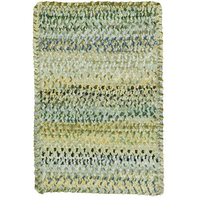 Wilhelmine Pale Green Area Rug Rug Size: Oval 23 x 4