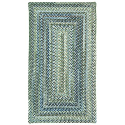 Holcombe Light Blue Area Rug Rug Size: Oval 92 x 132