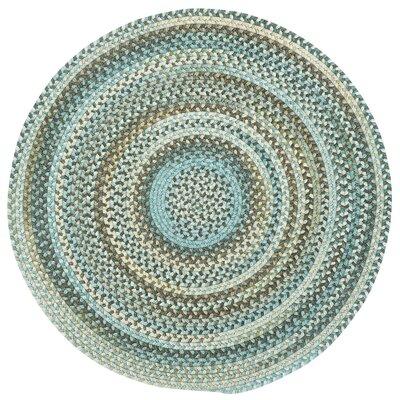 Phoebe Tan Hues Variegated Rug Rug Size: Round 13