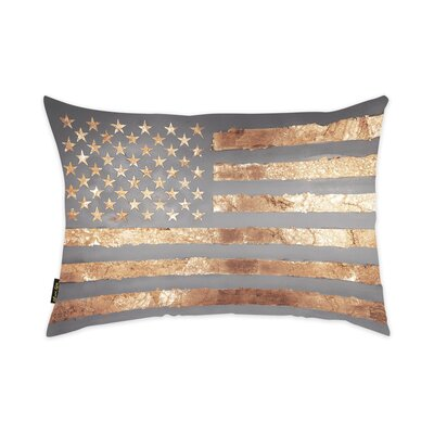 Nona Freedom Velvet Lumbar Pillow