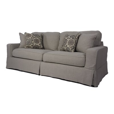 Columbus Box Cushion Sofa Slipcover Set