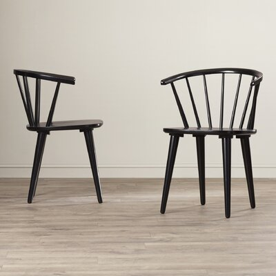 Alberta Side Chair Finish: Black