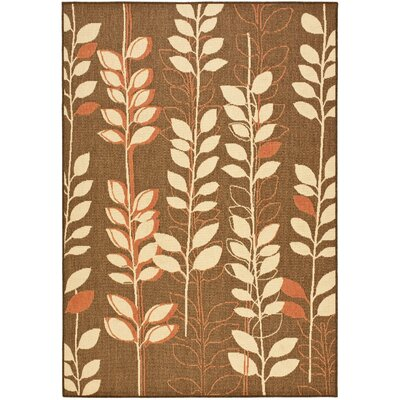 Laurel Brown Natural/Terracotta Rug Rug Size: Rectangle 710 x 11