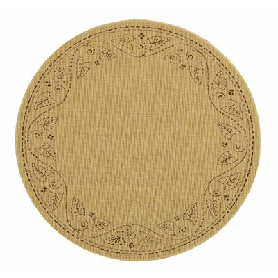 Laurel Tan Outdoor Area Rug Rug Size: Runner 27 x 5