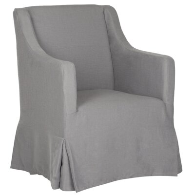 Skirted Slipcover Armchair